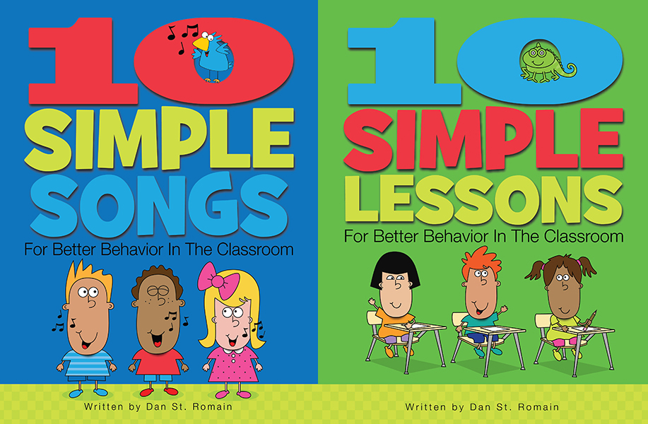 Combo Pack 1:  Songs and Lessons for Better Behavior in the Classroom