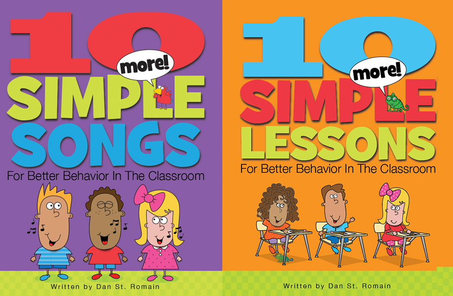 Combo Pack 2:  More Songs and More Lessons for Better Behavior in the Classroom