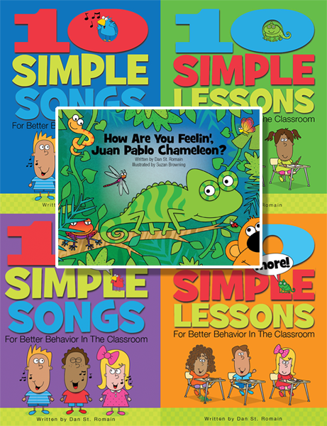 Combo Pack 3:  Five-Pack Bundle of Songs, Lessons, and Juan Pablo Book