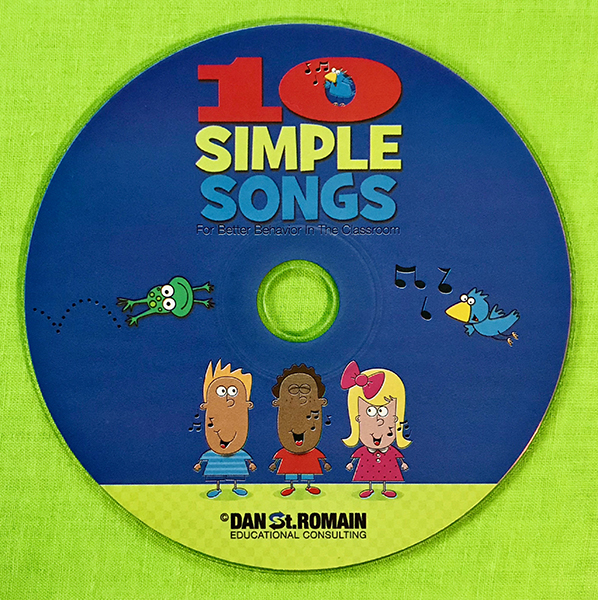 10 Simple Songs for Better Behavior in the Classroom – CD
